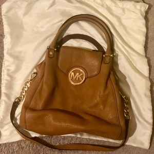 Michael Kors Camel Large Satchel